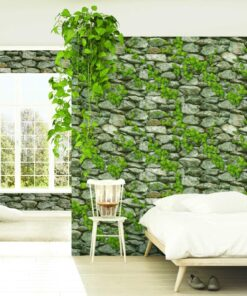 Giấy dán tường giả đá mã 40106-1 40121-1