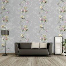 Giấy dán tường hoa lá
