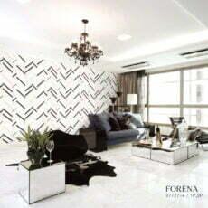 Nhà mẫu FORENA mã 27727-4Giấy dán tường 3D