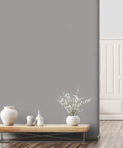 Giấy dán tường màu xám chống nấm mốc, diệt khuẩn, diệt virus cho phòng khách