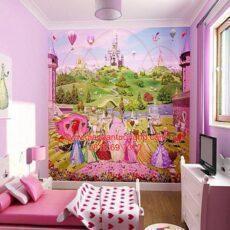 Công trình tranh dán tường trẻ em-15