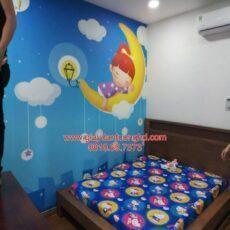 Công trình tranh dán tường trẻ em-21