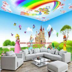 Công trình tranh dán tường trẻ em-31