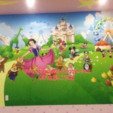 Công trình tranh dán tường trẻ em-35