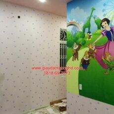Công trình tranh dán tường trẻ em-36