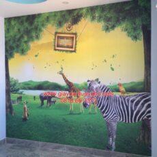 Công trình tranh dán tường trẻ em-37