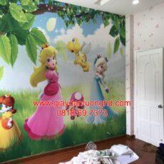 Công trình tranh dán tường trẻ em-45