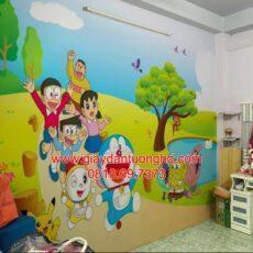 Công trình tranh dán tường trẻ em-58