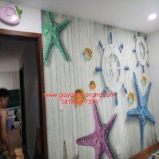 Công trình tranh dán tường trẻ em-9