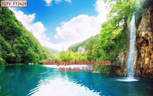Mẫu tranh dán tường phong cảnh thiên nhiên-112