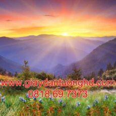 Mẫu tranh dán tường phong cảnh thiên nhiên-114