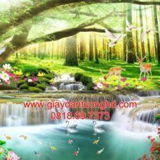 Mẫu tranh dán tường phong cảnh thiên nhiên-133
