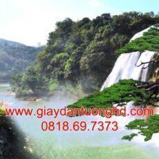 Mẫu tranh dán tường phong cảnh thiên nhiên-157