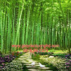 Mẫu tranh dán tường phong cảnh thiên nhiên-94