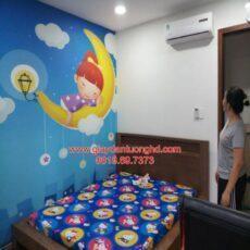 Thi công tranh dán tường trẻ em-24