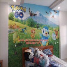 Thi công tranh dán tường trẻ em-29