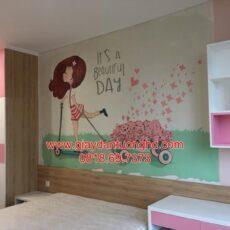 Thi công tranh dán tường trẻ em-41