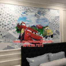 Thi công tranh dán tường trẻ em-50